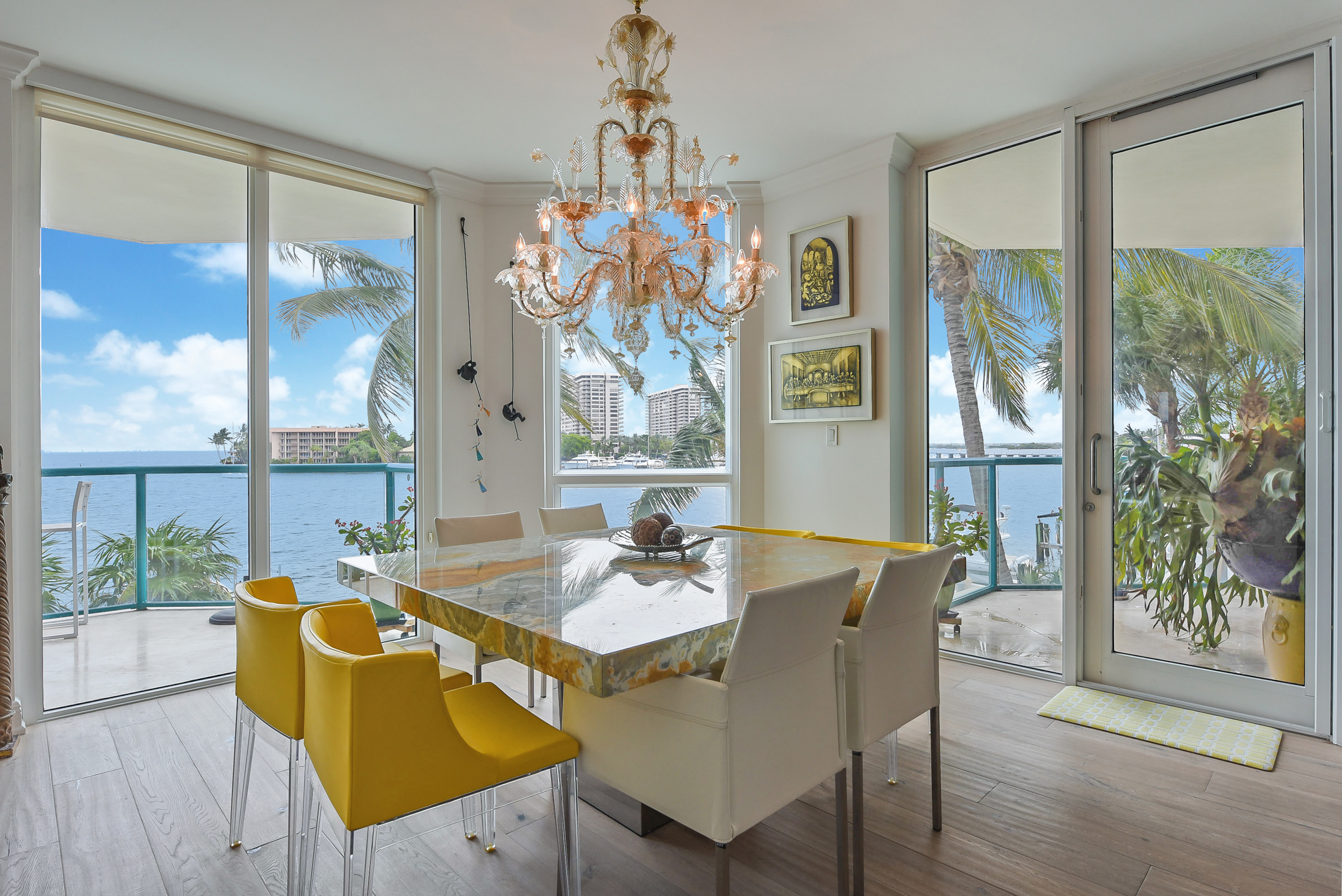 Waterfront condo in Coconut Grove